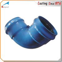 Custom products cast iron 100mm ductile iron pipes