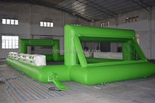 inflatable football filed , LZ-101 hot inflatable football pitch