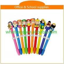 Hot sale new design cheap polymer clay ball pen golf pen set