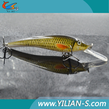 New design hard swimming bait various colors fishing lures beautiful artificial lures