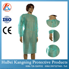 Hot selling disposable man gown in hospital