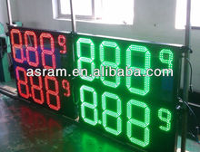 Outdoor 16 inch format 8.88 9/10 oil price display led with remote control