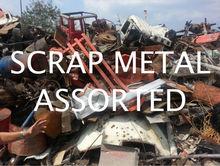 Scrap Metal Assorted 300Tons