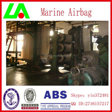 Natural rubber ship rubber airbags export to Batam shipyard
