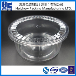 Round large blister packaging box/container for sweet grapes