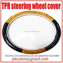car steering wheel cover car wheel cover TPR steering wheel cover car accessory