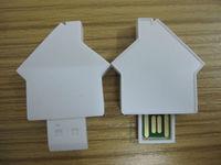 house shape usb flash drive/ design usb memory stick