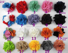 burlap flower Headbands for baby hair Decoration