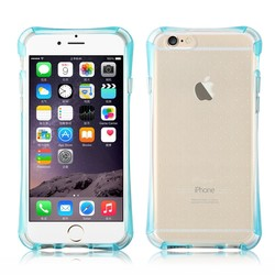 Soft TPU Rubber Gel Ultra Thin Clear Protective Case Cover For Apple iPhone 6 4.7""