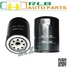 Alta calidad negro toyota hiace 5L del coche piezas del motor del filtro de aceite