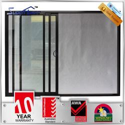 Australia standard double glazed custom stacking sliding multi sliding glass door