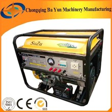 portable AC Three phase power generator with electric starter made by Chongqing BaYun factory