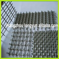 Alibaba express flower bed crimped wire mesh, crimped wire mesh