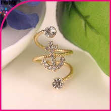 2015 new product Factory Direct Price Fashion anchor Engagement Ring