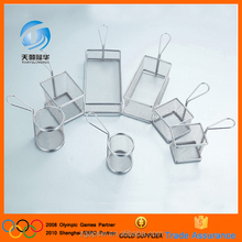 China Alibaba Food Grade Stainless Steel Grill Basket