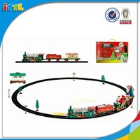 24pcs electric high speed toy train sets kids plastic train game toys