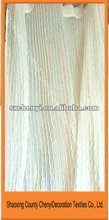 pleated fresh curtain sheer or window screening tulle promoting in 2012
