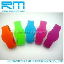 2014 New Prodcut Summer Big Promotional Silicone RFID bracelet/RFID wristband