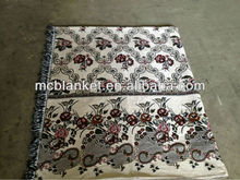 New design jacquard thread blanket