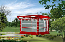 fast food kiosks container house