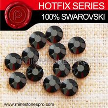 Swarovski Elements Fashionable Jet Hematite (280 HEM) 30ss Crystal Iron On Stone