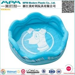 pvc foldable inflatable pets swimming pool for dogs