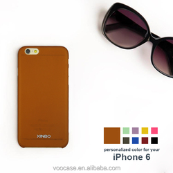 2015 Orange Hard Plastic Fancy Cell Phone Cover for iPhone 6