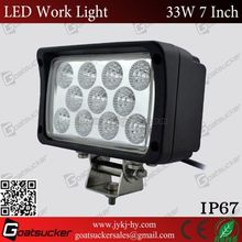 Waterproof 33w led work light led panel light led flood light toyota vitz parts