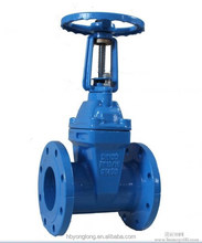 DIN F4/F5 Iron Resilient Seat OS&Y Rising Stem Gate Valve