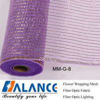 Decorative flower wrapping mesh(PP mesh)