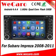Wecaro WC-SU7068 android 4.4.4 car dvd player for Subaru Impreza 2008 2009 2010 2011 3G wifi playstore
