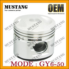 Best quality famous engine block piston for Honda GY6 50cc motorcycle
