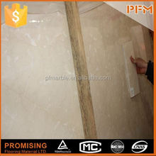domestic natural A quality decorative beige marble stone polished floor tile
