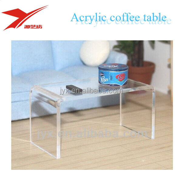 Modern Clear Acrylic Trunk Coffee Table