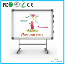 Touch screen customized board with eraser infrared smart board infrared white board for sale