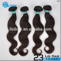 Stock Selling Natural Color Brazilian Virgin Hair Soprano Human Hair