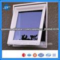 De aluminio de ping en una ventana, deshabilites colgando, bajo la ventana colgando