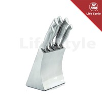 High quality 5pcs hollow handle stainless steel knife bread knife