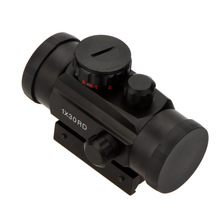 1X30 Tactical Holographic Red Green Dot Riflescope Sight Scope for Shotgun Rifle Hunting