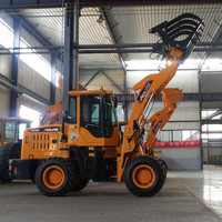 Mini Front End Loader With Grass Grapper/Grass Grab/Grass Grapple