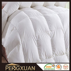 China made wholesale factory cheap goose down thick comforter sets bedding