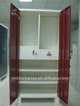 India steel armoire wardrobe cabinet