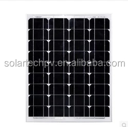 RECYCLABLE USE FOR 50W MONOCRYSTALLINE SOLAR PANEL WITH CERTIFICATES CE/ISO/TU/IEC
