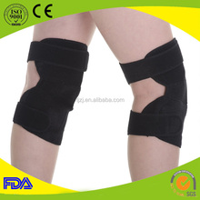 Knee pain relief magnetotherapy velcro heating flexible knee pads