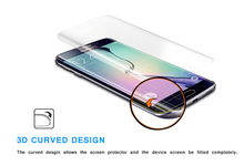 New Fashionable color cell phone Full Cover 3D Curved edge Screen Protector For samsung galaxy s6 edge