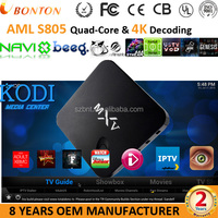 Free live TV 1000+ CH MXV Android TV Box Quad core 1gb ram 8gb rom mxq tv box android KODI 14.2 Media Center with top100+ addons