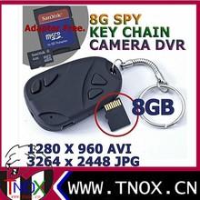 720*480p keychain camera mini dvr 808 car key chain micro camera