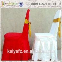 New design great material wedding decorative patterns for chair cover