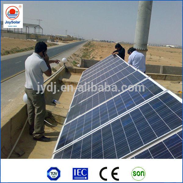 solar energy panel high efficiency & TUV CE MCS approval