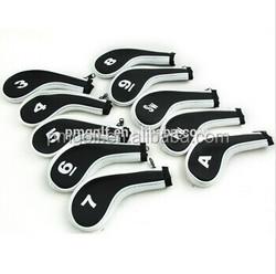 PU Customized golf iron head cover OEM